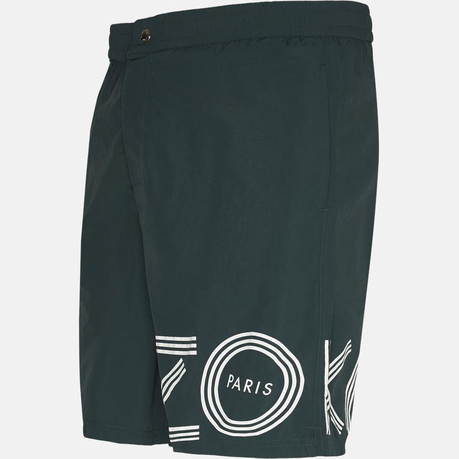 5BA208 - Shorts - Regular fit - BOTTLE GREEN - 4
